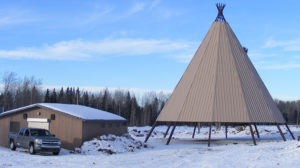 60 Foot Tall Tepee