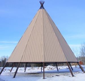 tepee shade shelter
