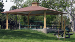 mesa shade structure