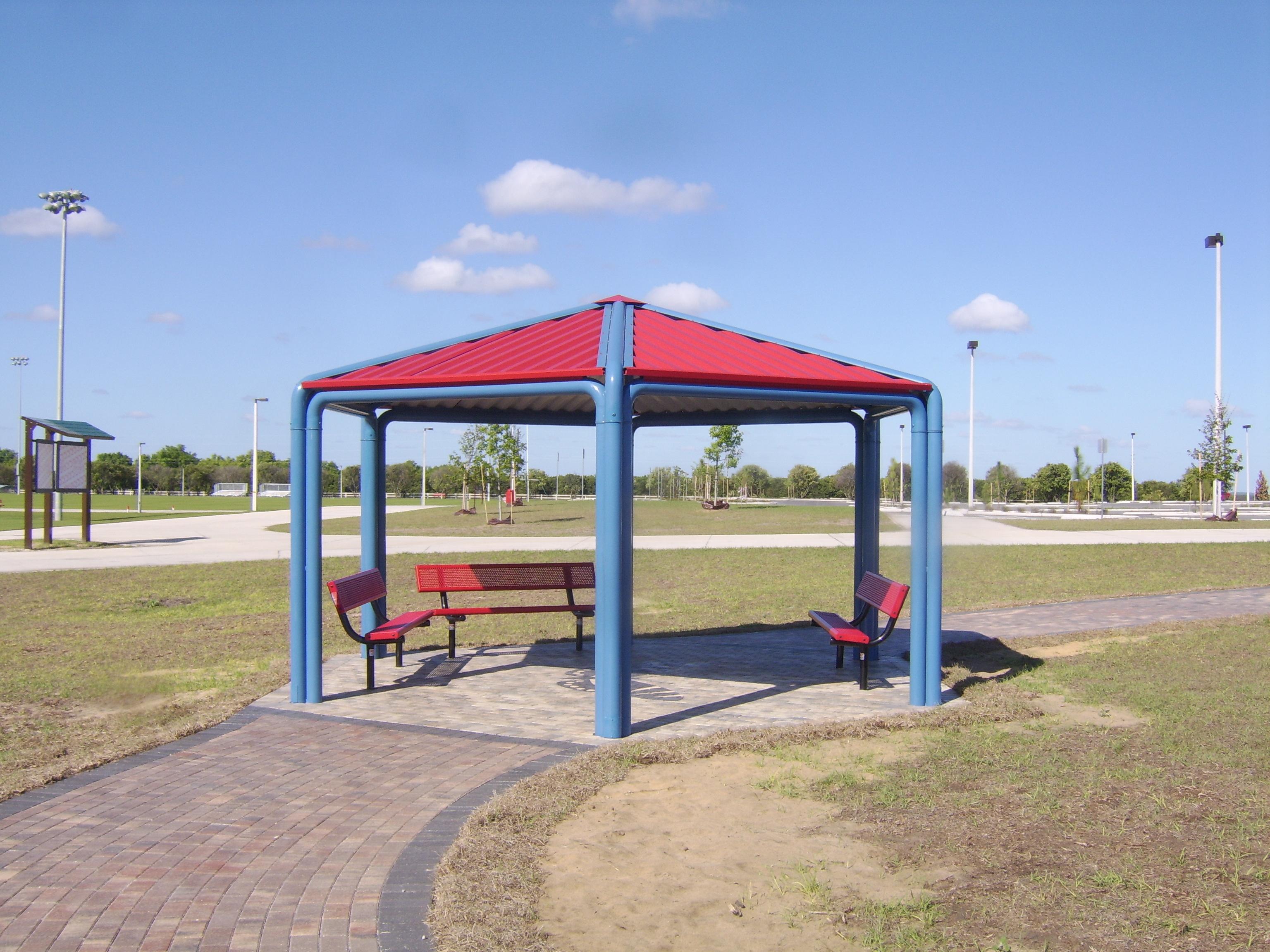Prescott shade shelter