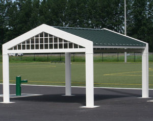 Country Garden shade shelter