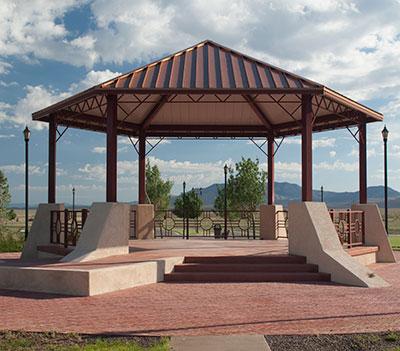 shade shelter hexagon