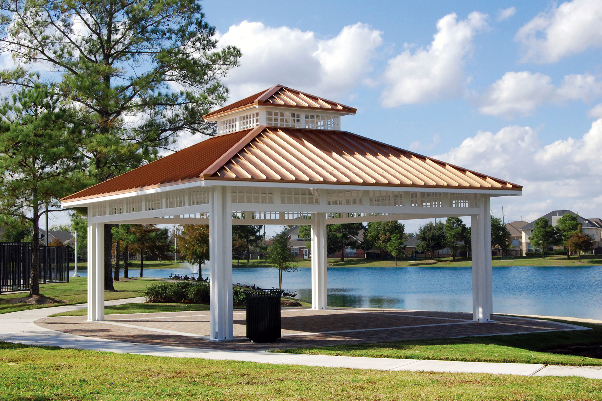two tier gazebo roof