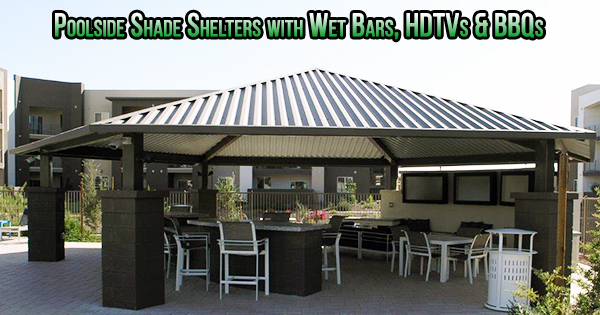 pool shade structures